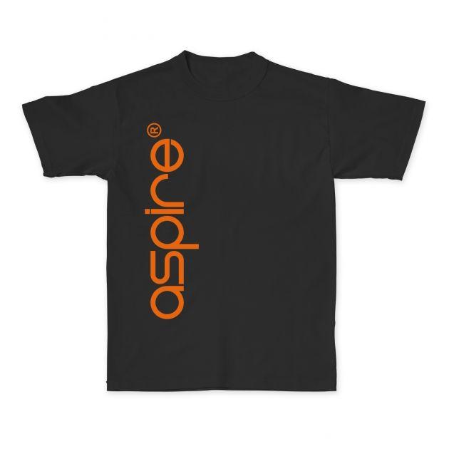 Aspire T-Shirt Orange vs Black