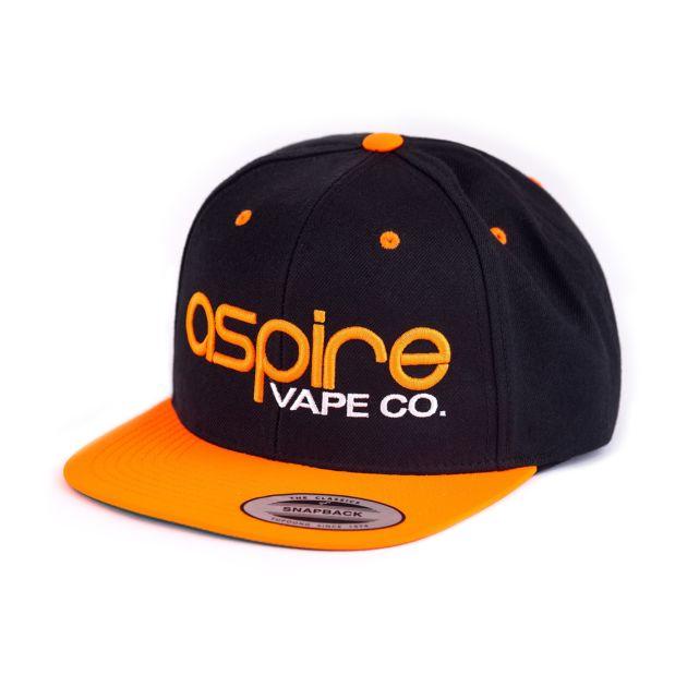 Aspire Hat Orange vs Black