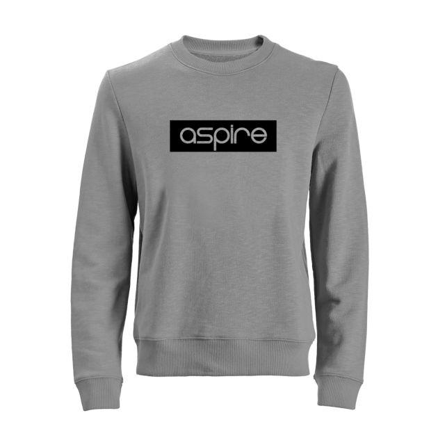 Aspire Sweater Grey vs Black 'Aspire' Bold