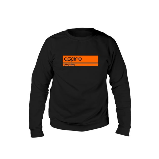 Aspire Sweater  Black vs Orange Journey to Infinity