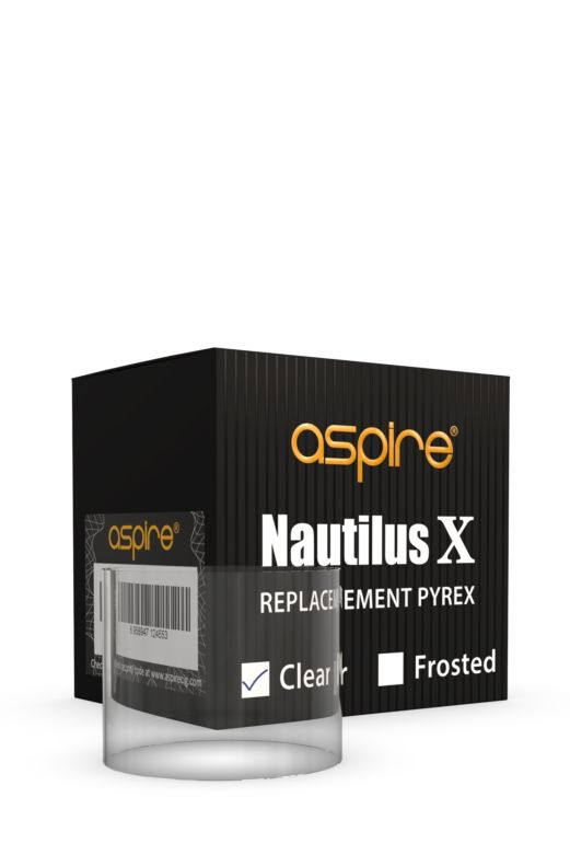 Aspire Nautilus X Replacement Pyrex Glass