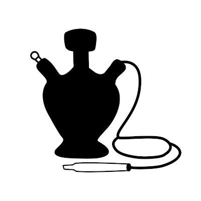 Hookah vape icon